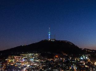 韓国ソウルのウォシュレット付き、ロワジールホテル