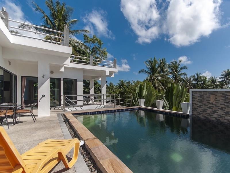 เกาะสมุย โมเดิร์น วิลลา - Koh Samui Modern Villa