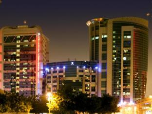 Emirates Concorde Hotel & Residence Dubai - Night View of Main Building