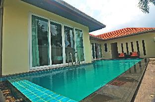 a swimming pool villa for holidays