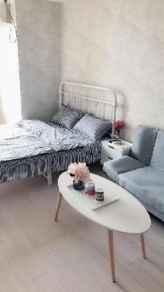 CBD Wanda Plaza European small fresh bed room, Rizhao
