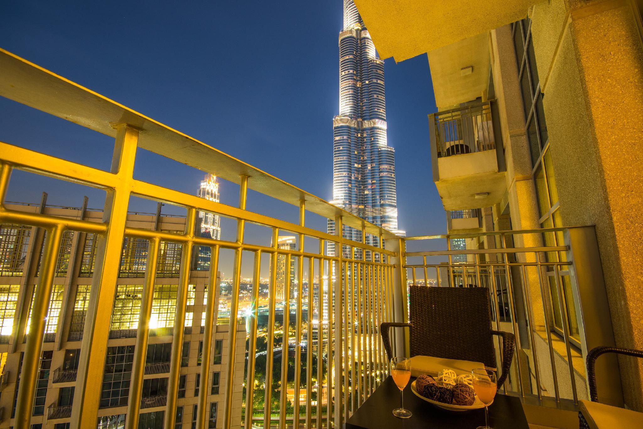 High End Burj Khalifa View Downtown Apartment Dubai United Arab Emirates