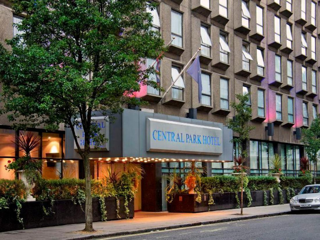 Central Park Hotel London Reviews