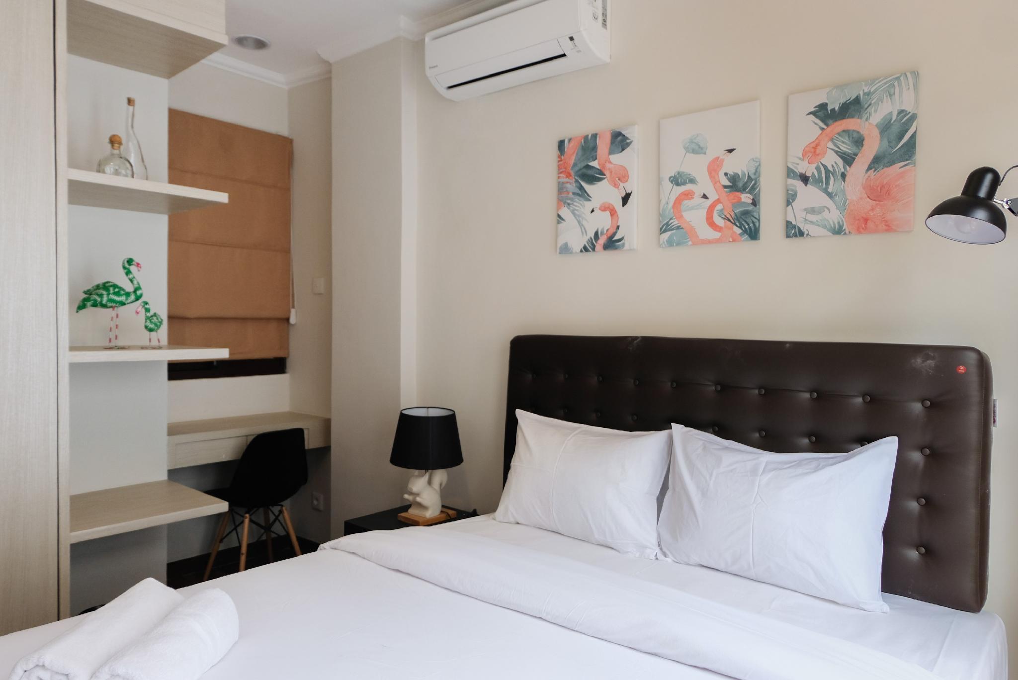 Minimalist Cozy Room 1BR Asatti Apt By Travelio