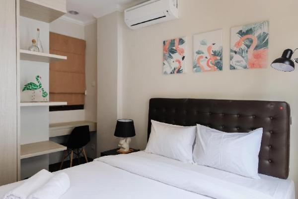 Minimalist Cozy Room 1BR Asatti Apt By Travelio Tangerang