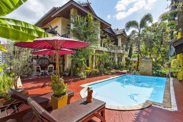 Gold Star Boutique Home 5BR w/Pool close to City Chiang Mai