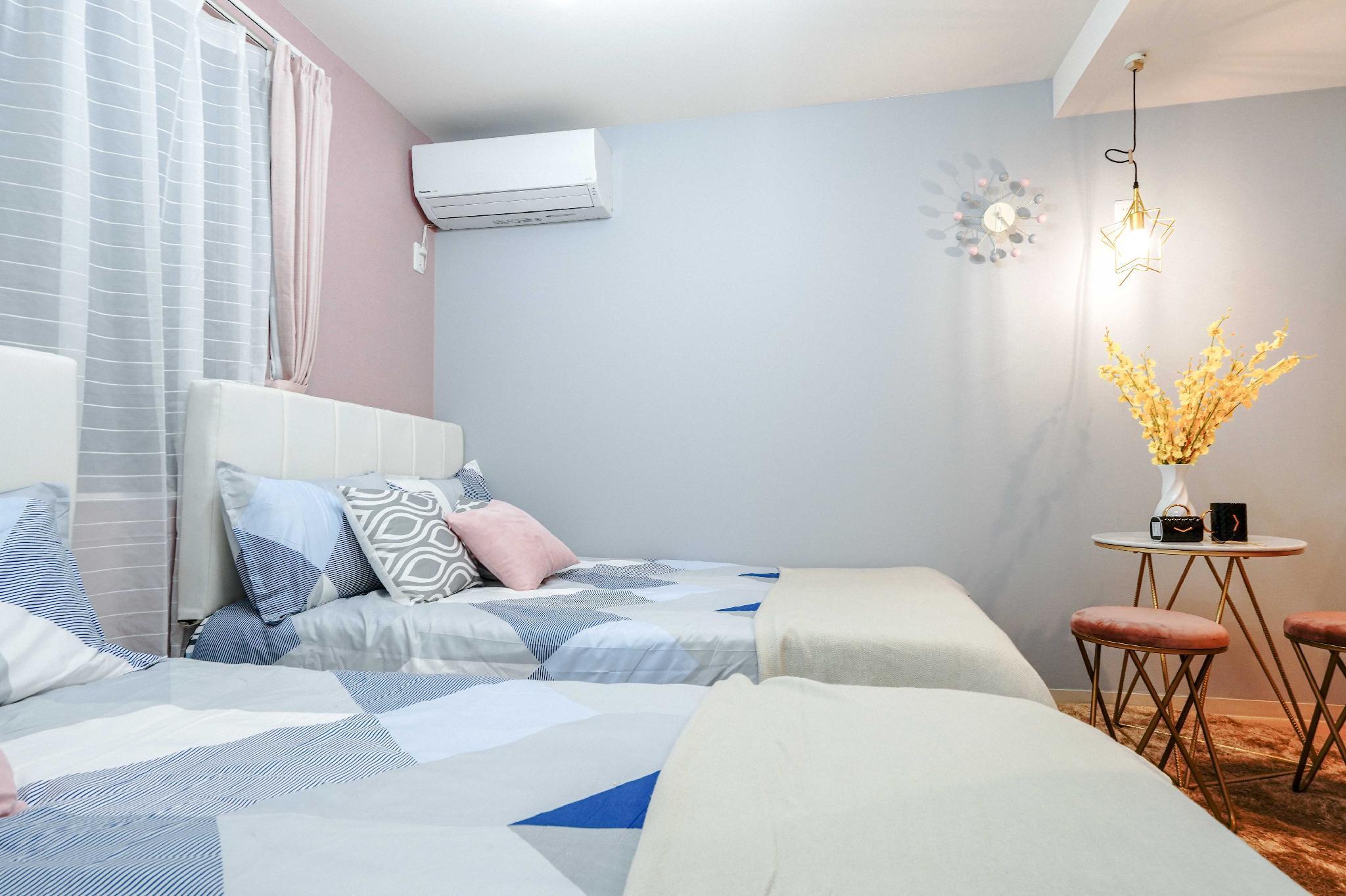 301 New Modern Economy Cozy Room Ikebukuro 4ppl