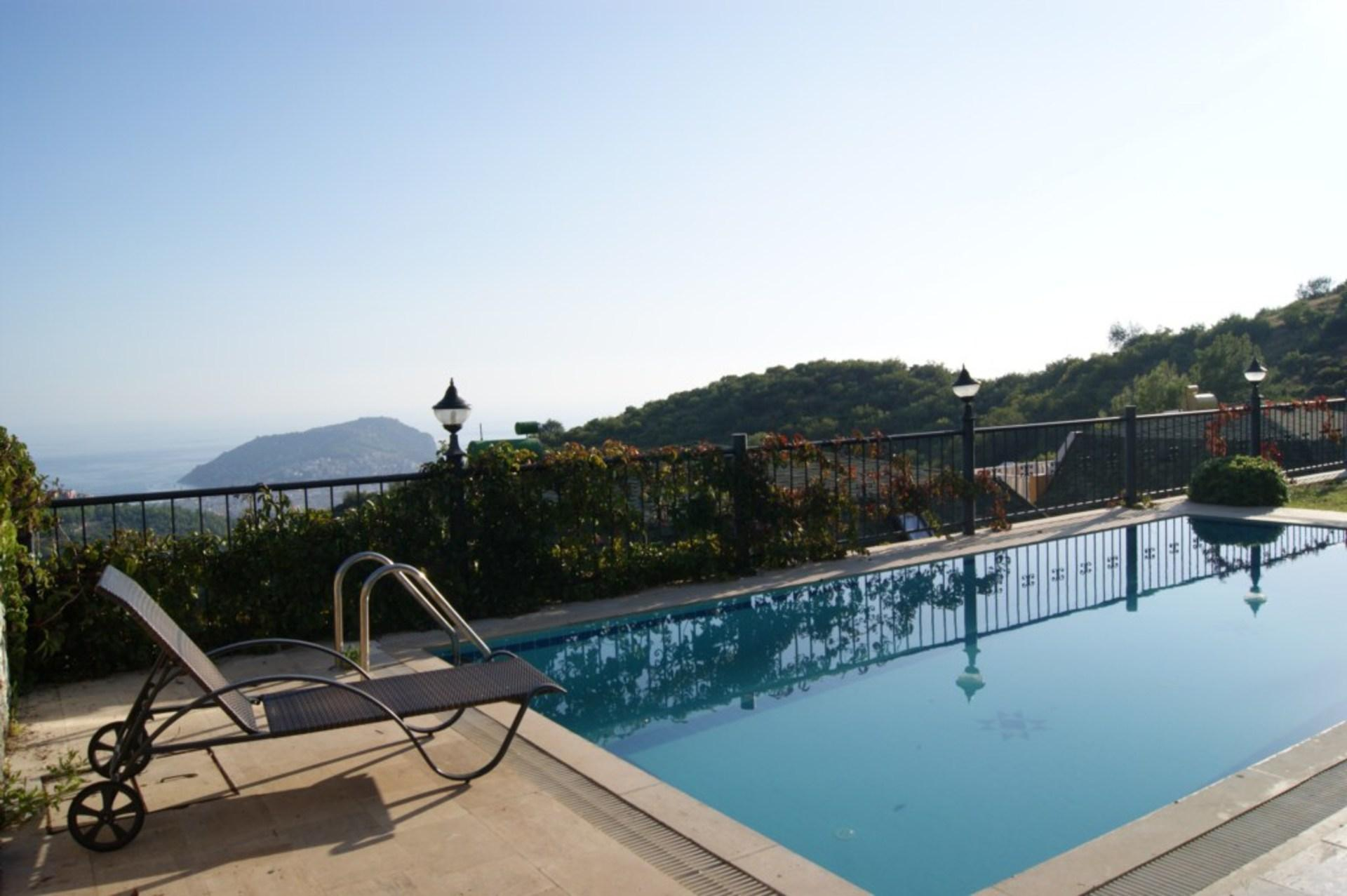 Luxury Villa With Private Pool And Majestic Sea Views