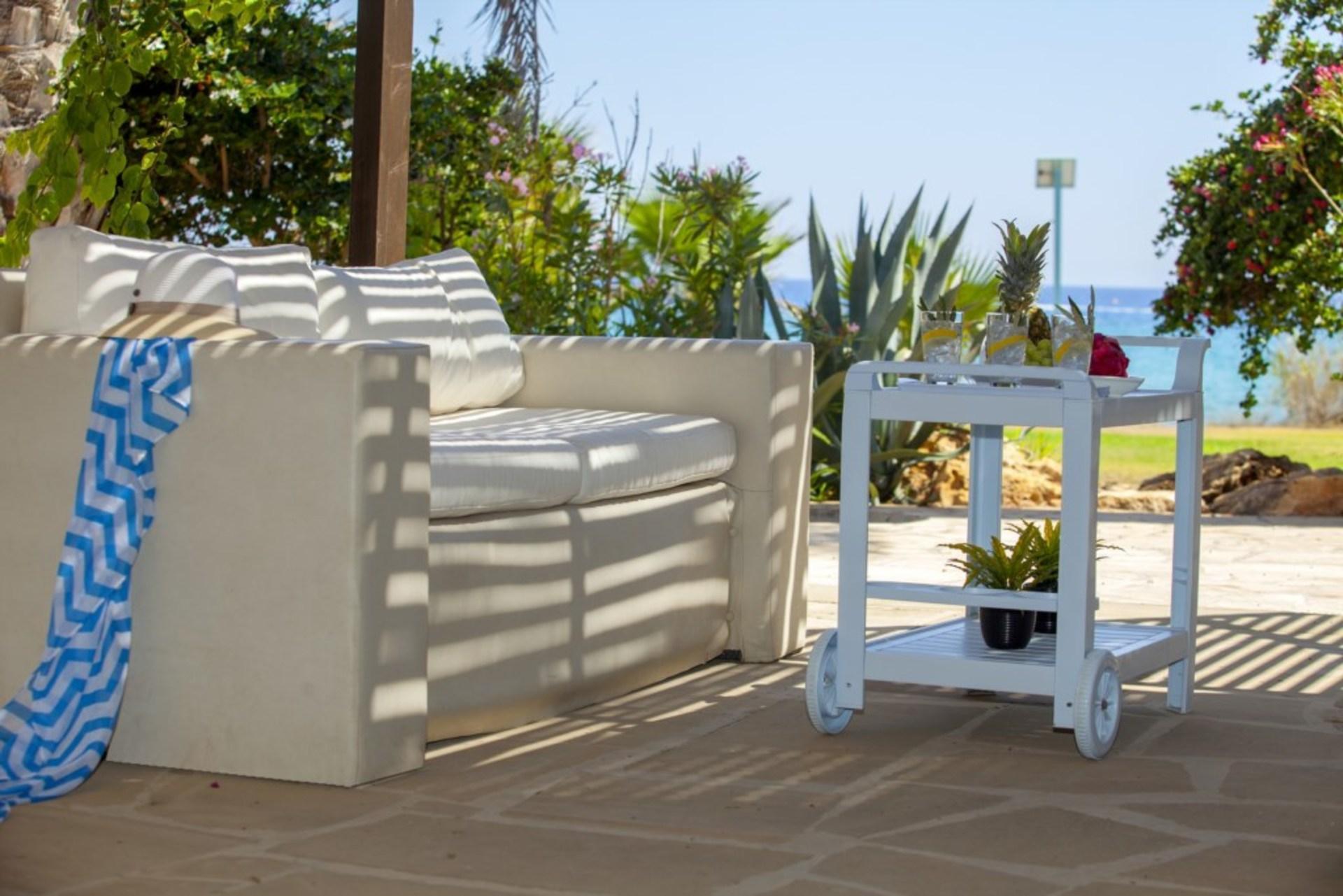 Imagine Your Family Renting This Luxury Beachfront Villa In Ayia Napa