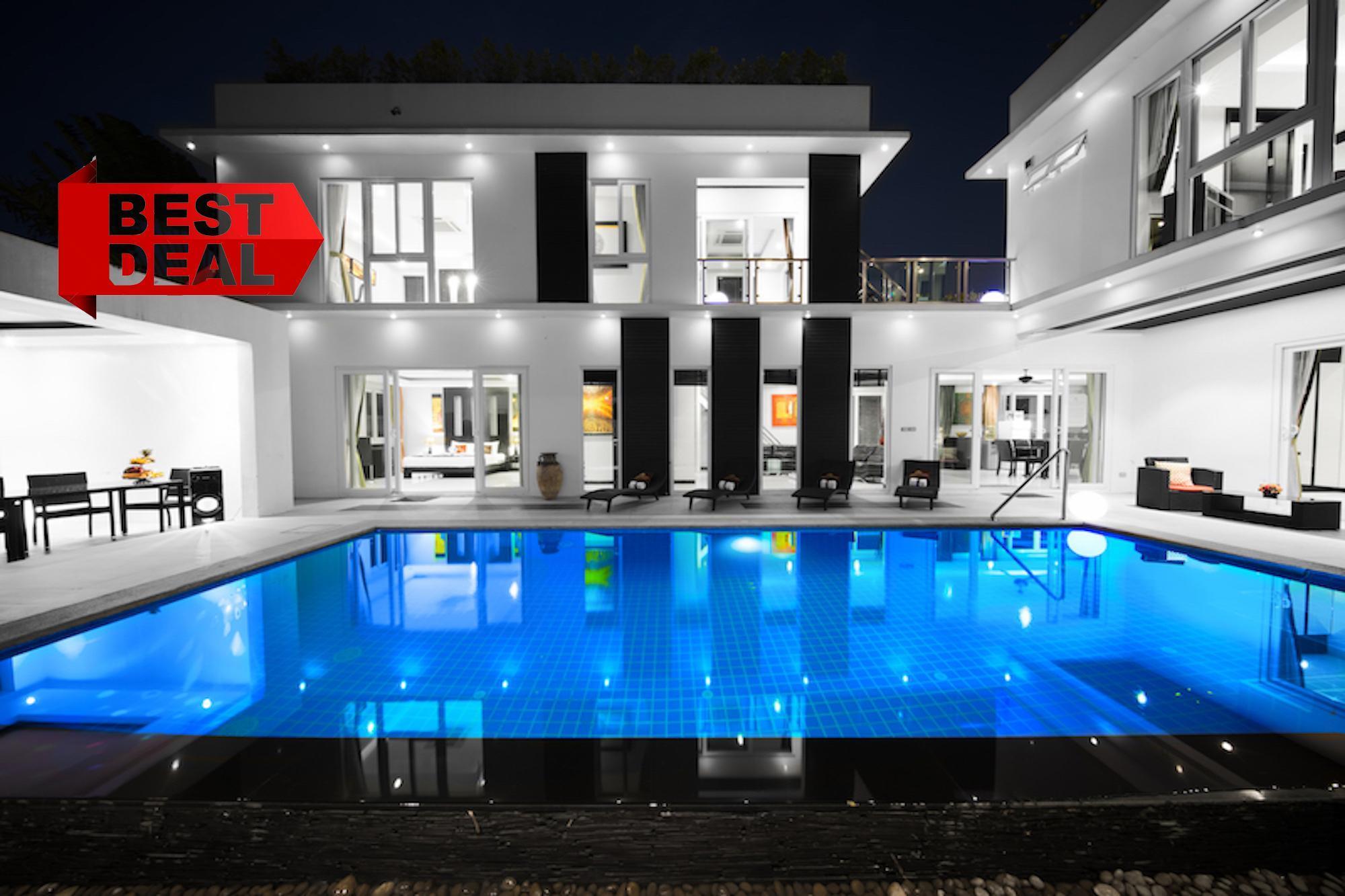 DIAMOND Pool Villa Pattaya With Jacuzzi And Sauna