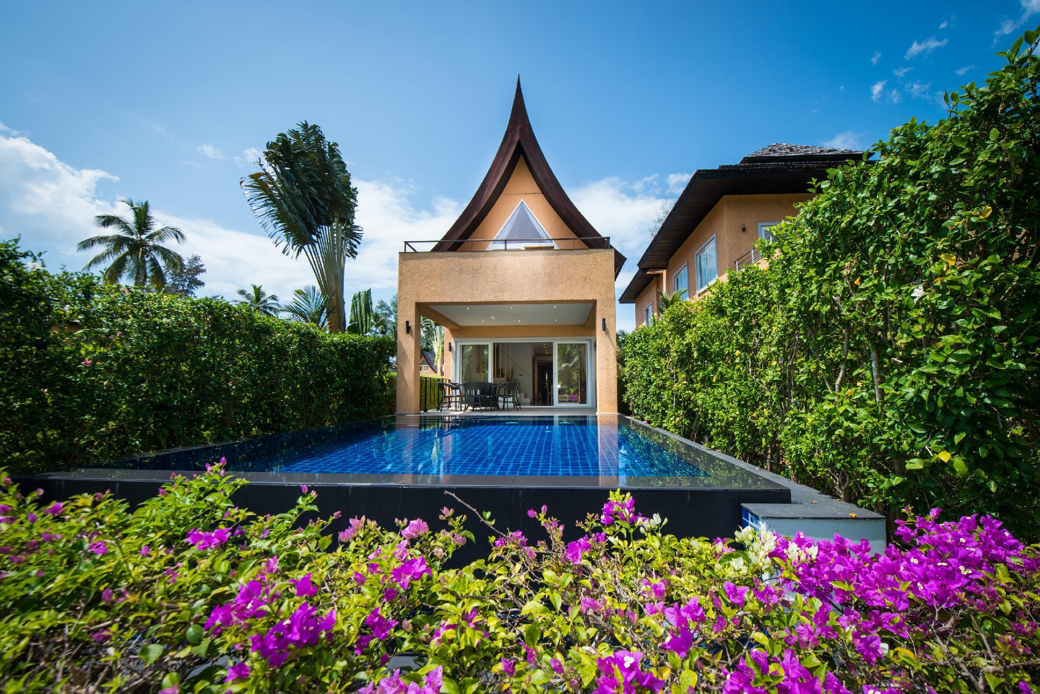 Blue Chill Villa  Infinity Pool  Hotel Managed วิลลา 3 ห้องนอน 4 ห้องน้ำส่วนตัว ขนาด 200 ตร.ม. – คลองสน
