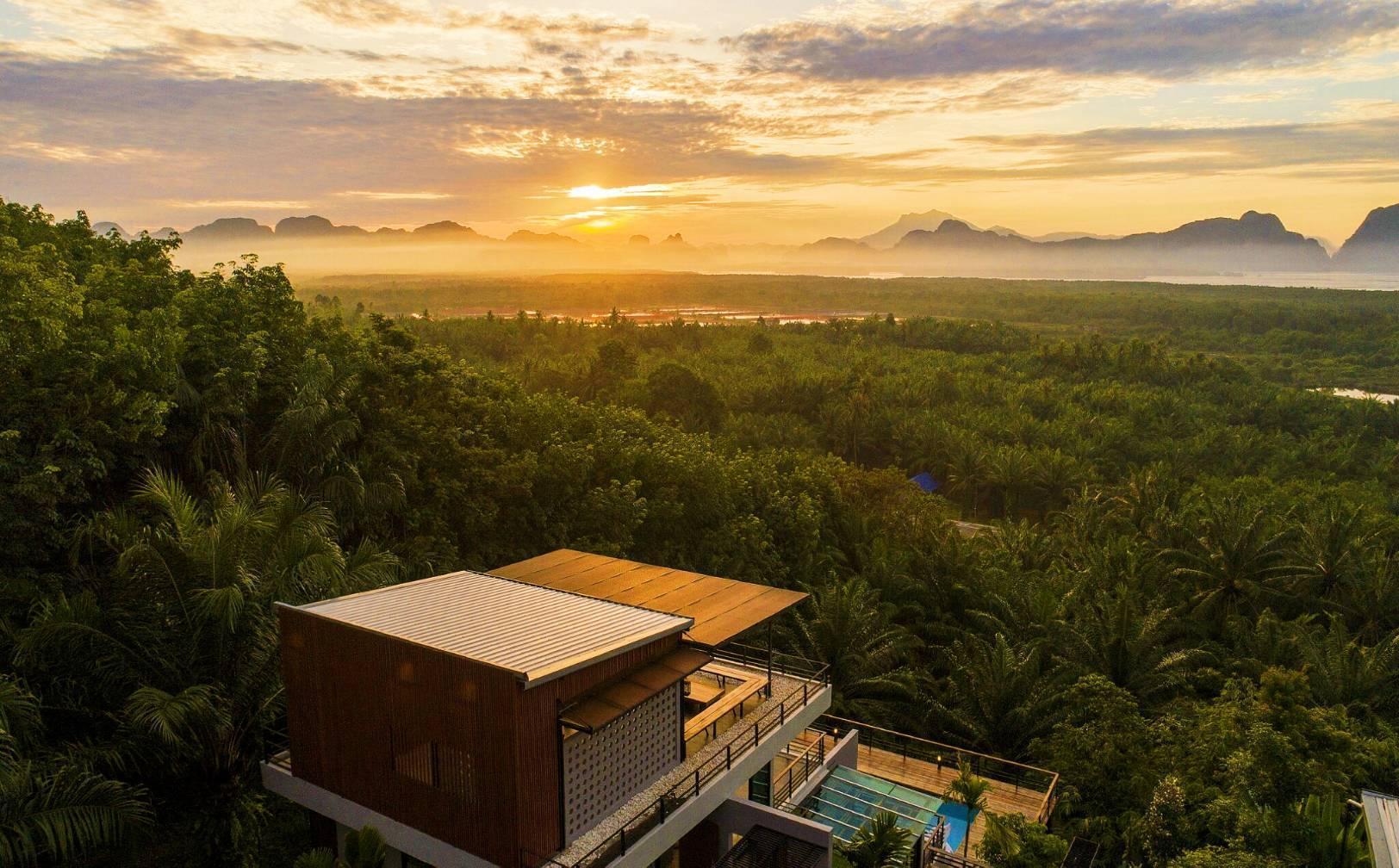 Ao Luek Panoramic Pool Villa,Room Studio.1 วิลลา 1 ห้องนอน 1 ห้องน้ำส่วนตัว ขนาด 65 ตร.ม. – อ่าวลึก