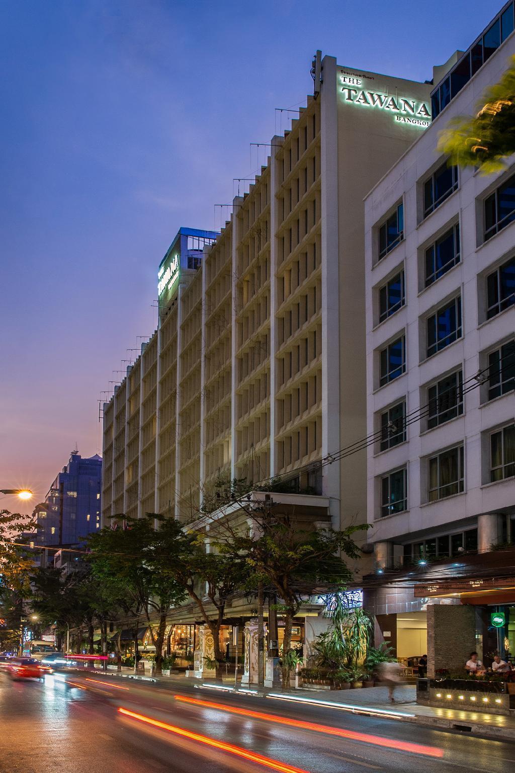 Tawana Bangkok Hotel โรงแรมตวันนา