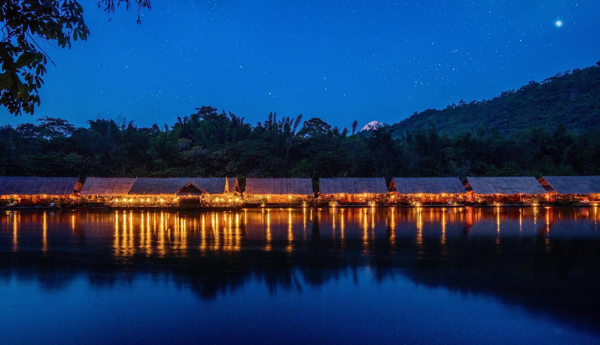 River Kwai Jungle Rafts Resort เรือนแพจังเกิลราฟท์ รีสอร์ท