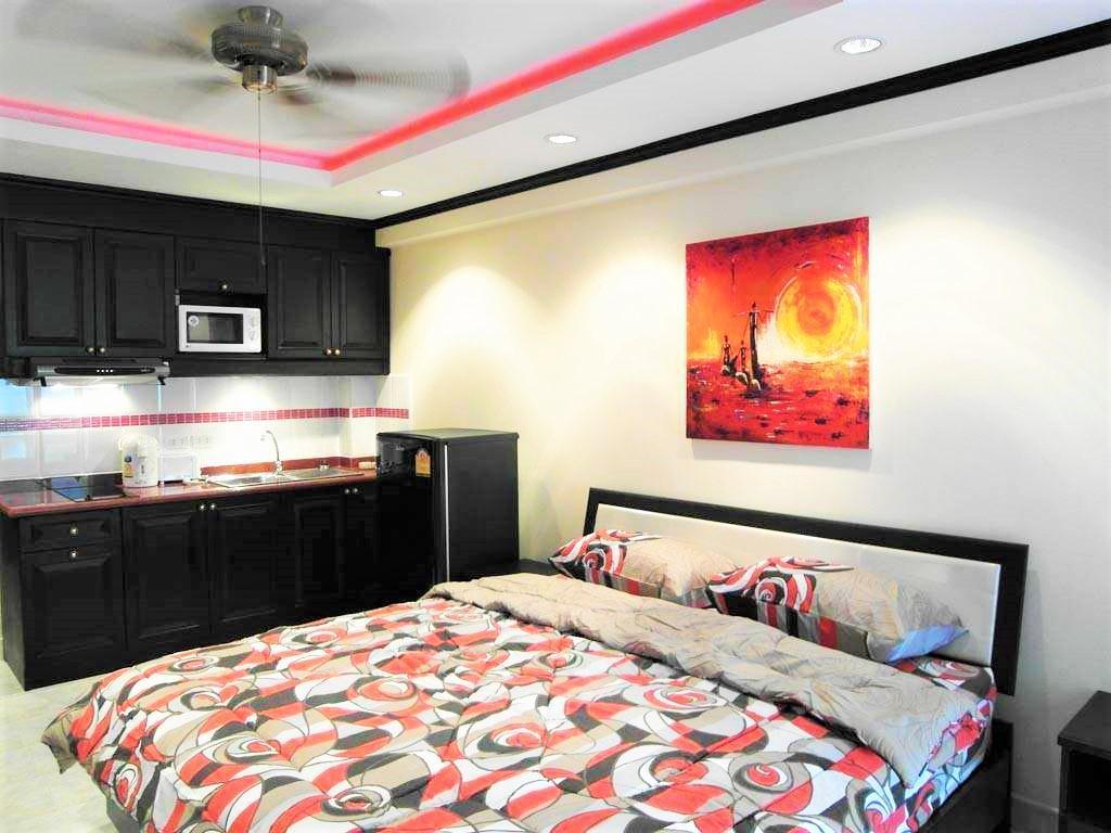 Sea View Studio Apartment Jomtien Beach Condo