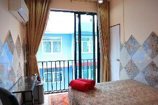 [サトーン]スタジオ アパートメント(10 m2)/1バスルーム  Cool, colorful and Private near MRT Central BKK