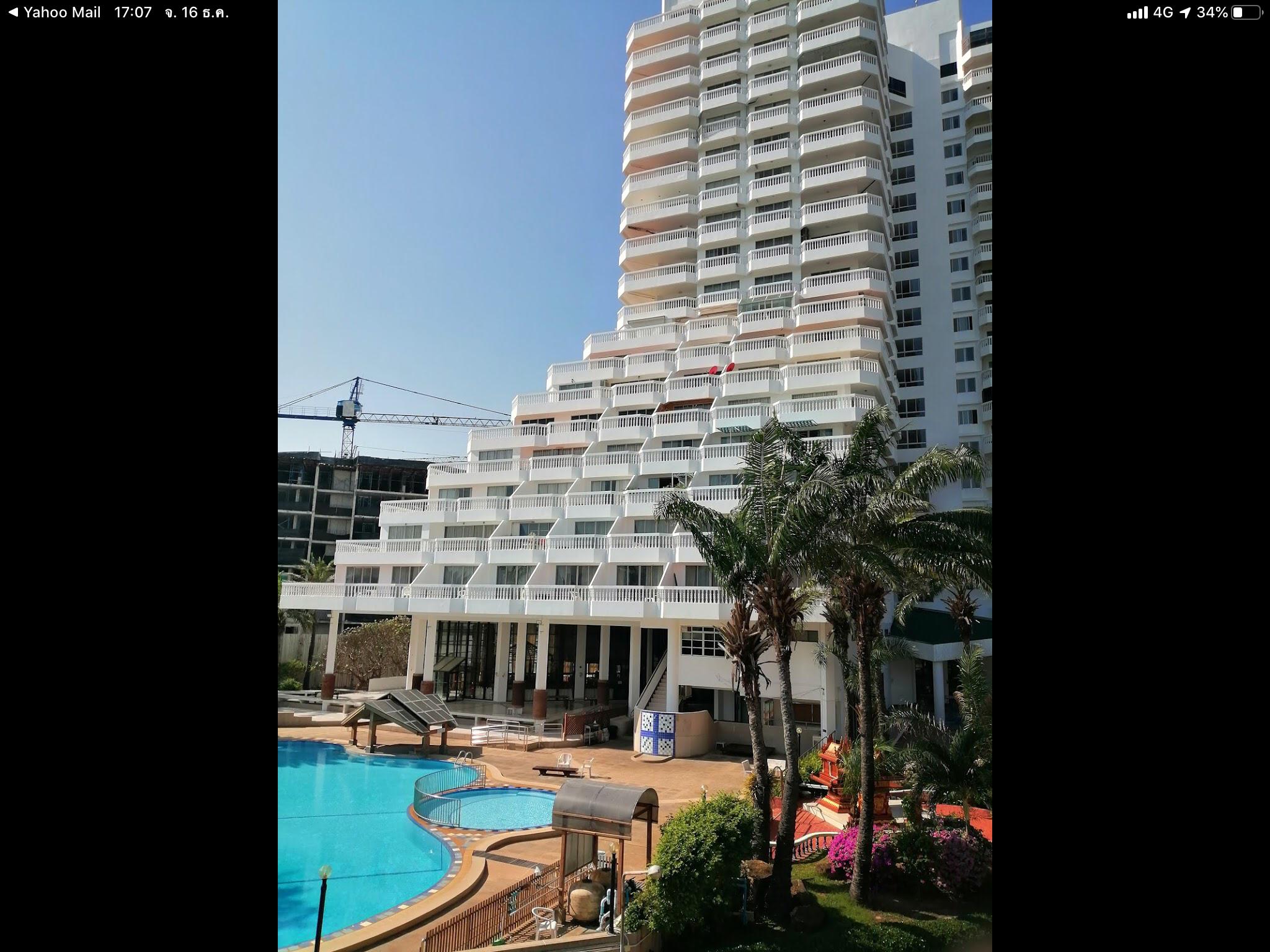 PMY Beach Resort อพาร์ตเมนต์ 1 ห้องนอน 1 ห้องน้ำส่วนตัว ขนาด 44 ตร.ม. – หาดระยอง
