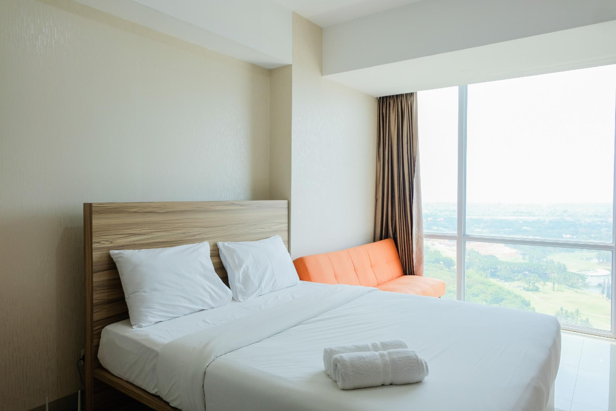 Studio Apartment @U Residence Near UPH By Travelio