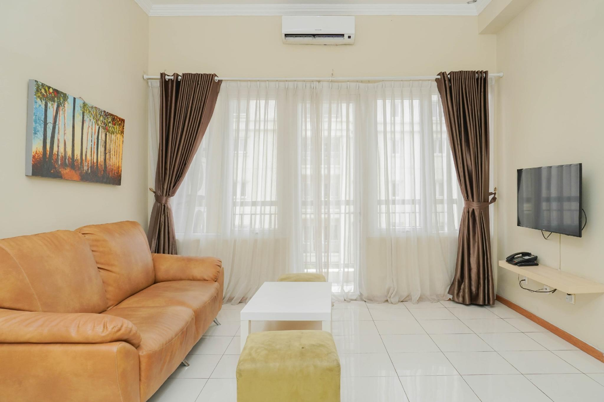 New Room 3BR At Grand Palace Kemayoran By Travelio