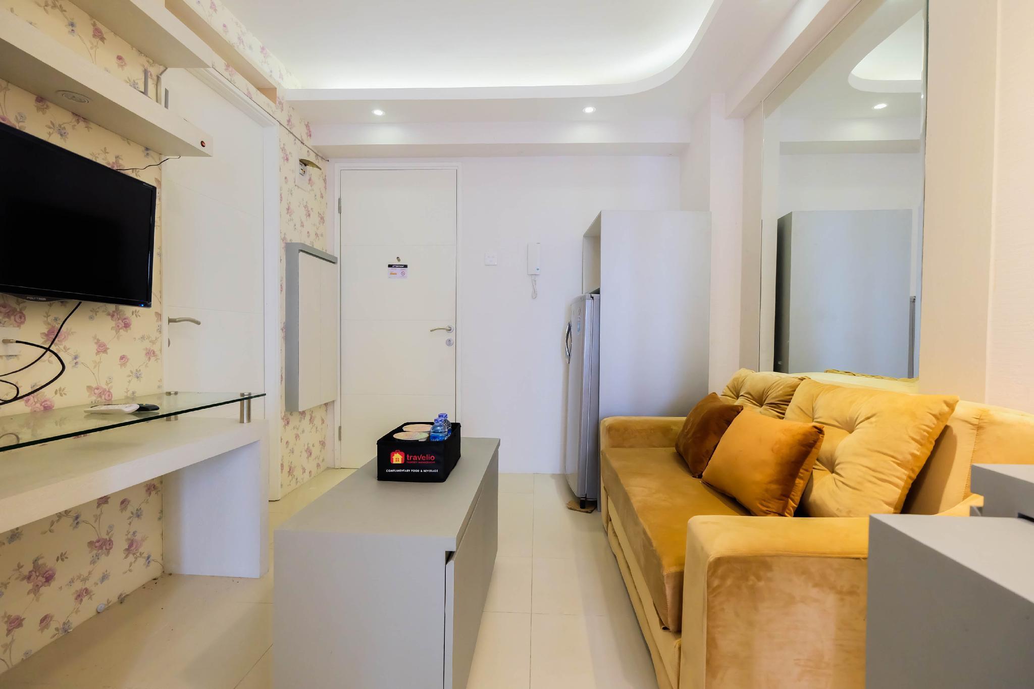 Cozy and Elegant 2BR Bassura Apartment By Travelio