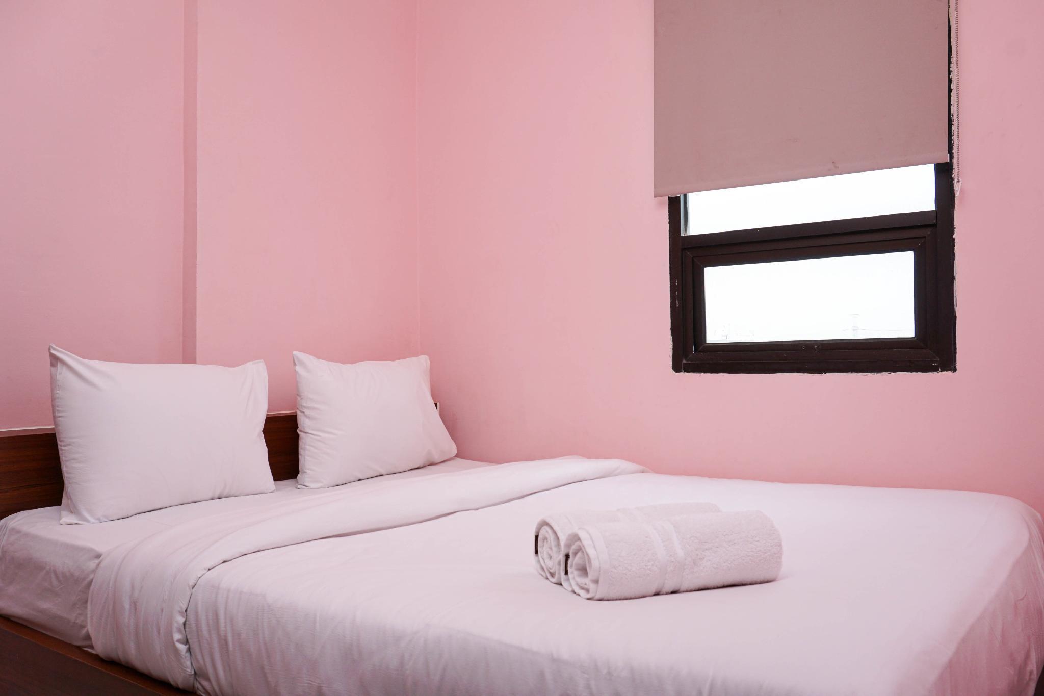 Homey 2BR Menara Cawang Apartment By Travelio