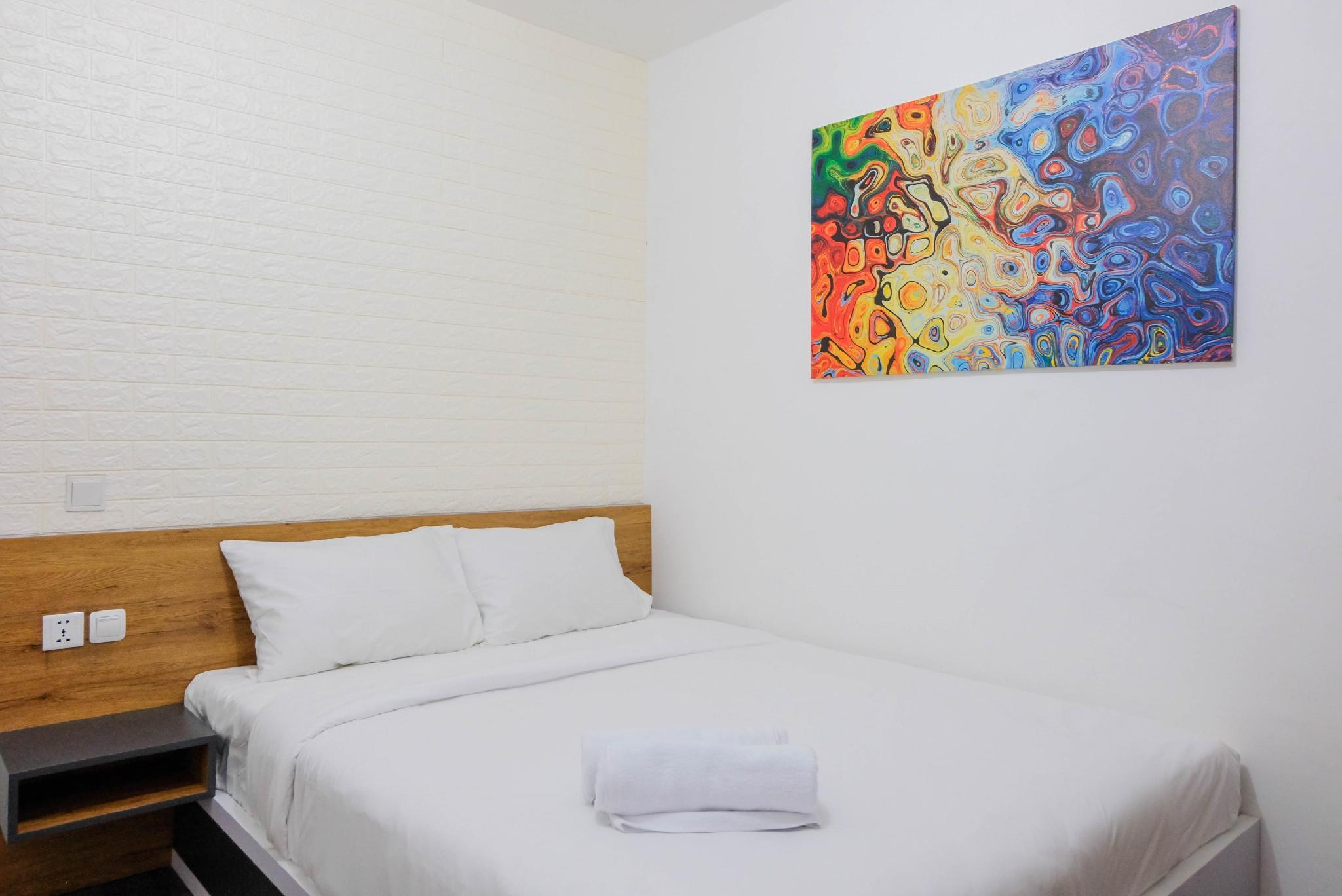 Homey Studio Apt @ Aeropolis Residence By Travelio