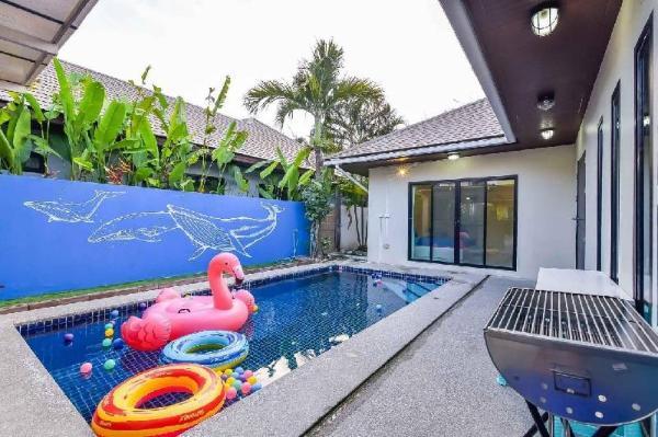 Love Love Huahin Pool villa - Near Beach 2km. Hua Hin
