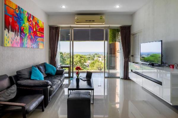 Modern apartment with beautiful sea views Phuket