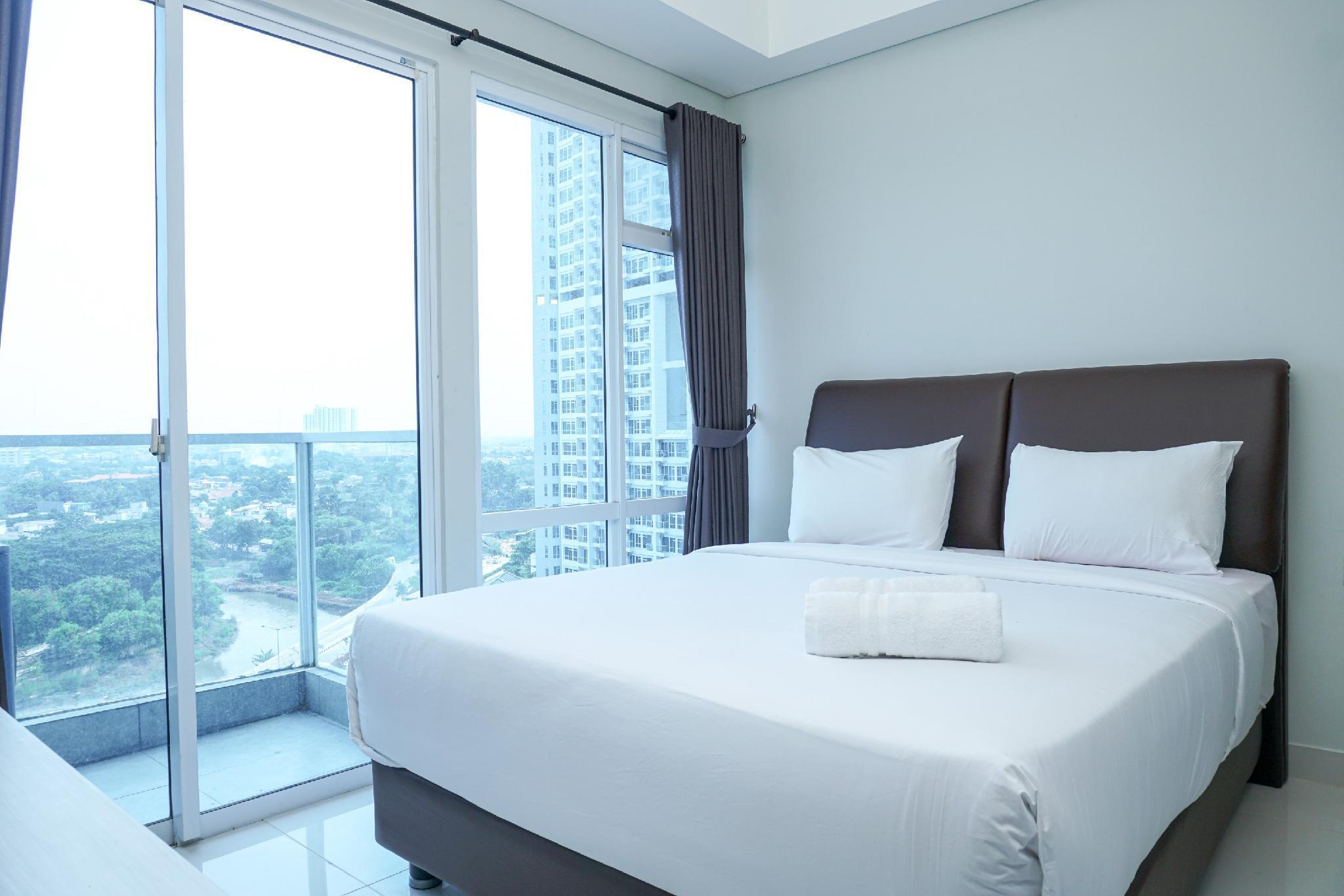 Minimalist 3BR Apartment @Puri Mansion By Travelio