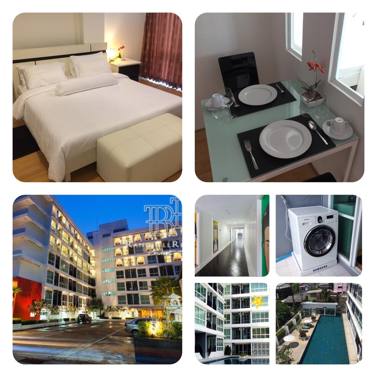 Apartment in  Ranghill Residences Phuket สตูดิโอ อพาร์ตเมนต์ 1 ห้องน้ำส่วนตัว ขนาด 45 ตร.ม. – ตัวเมืองภูเก็ต