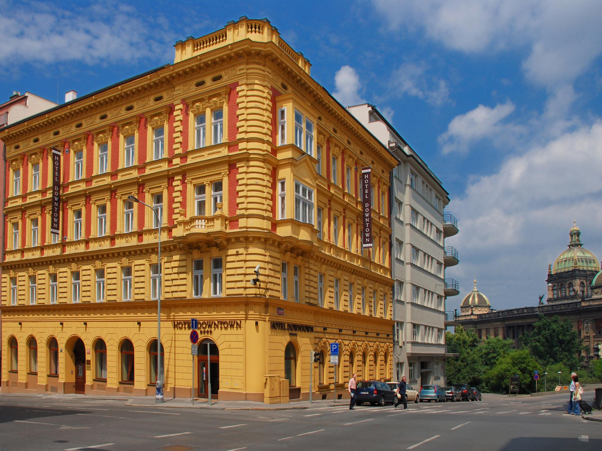 Prague ea hotel down town in czech republic europe for Europe hotel prague