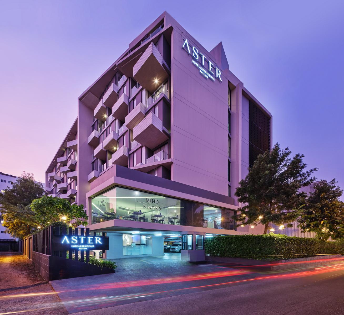 Aster Hotel and Residence แอสเทอร์ โฮเต็ล แอนด์ เรสซิเดนซ์