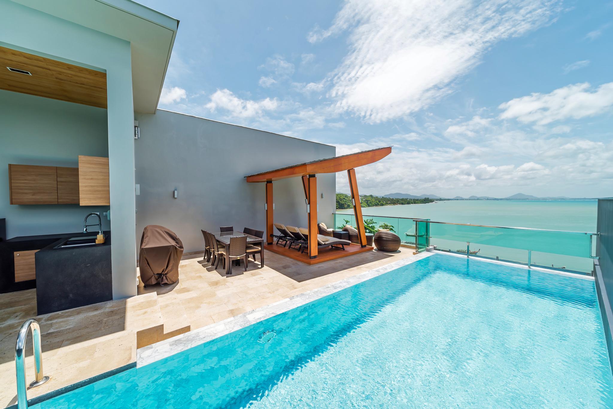 Elemental 5FL Infinity Pool Seafront Villas