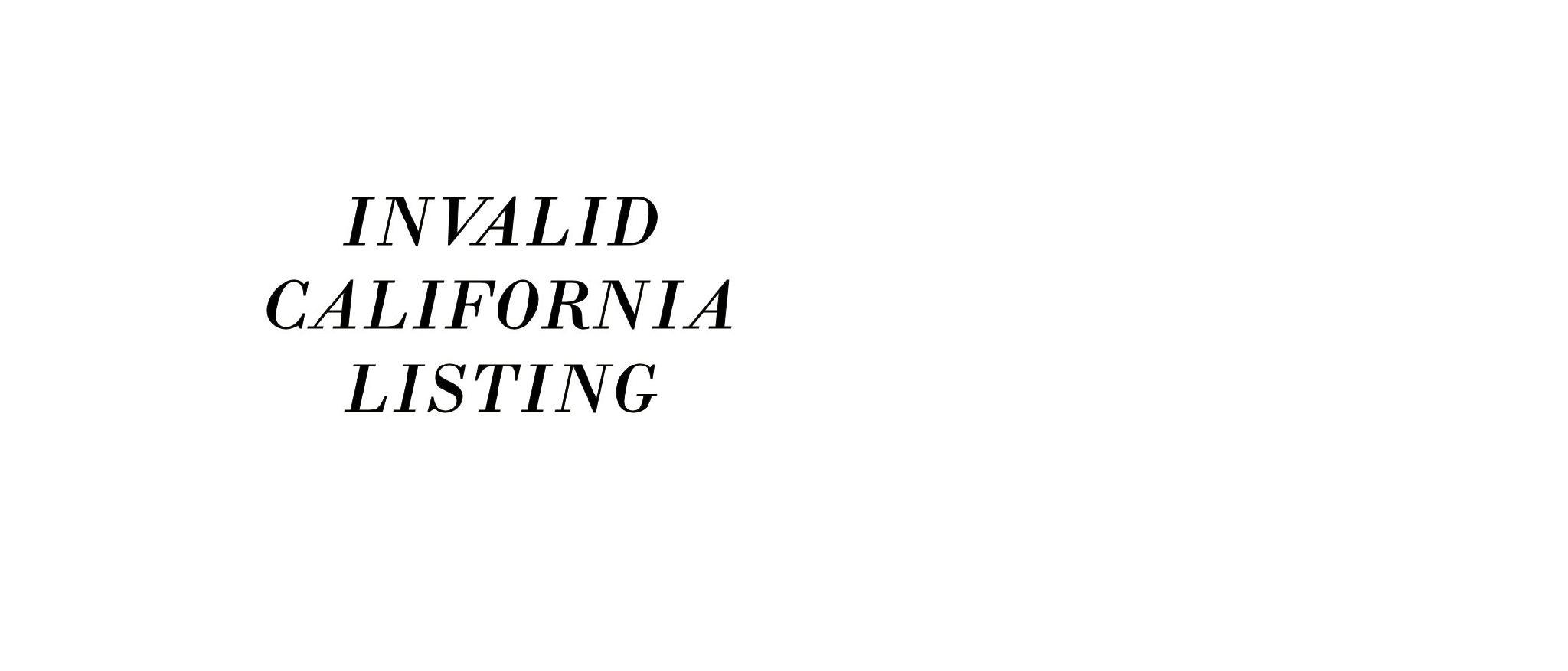 DEAD LISTING INVALID NOT AVAILABLE