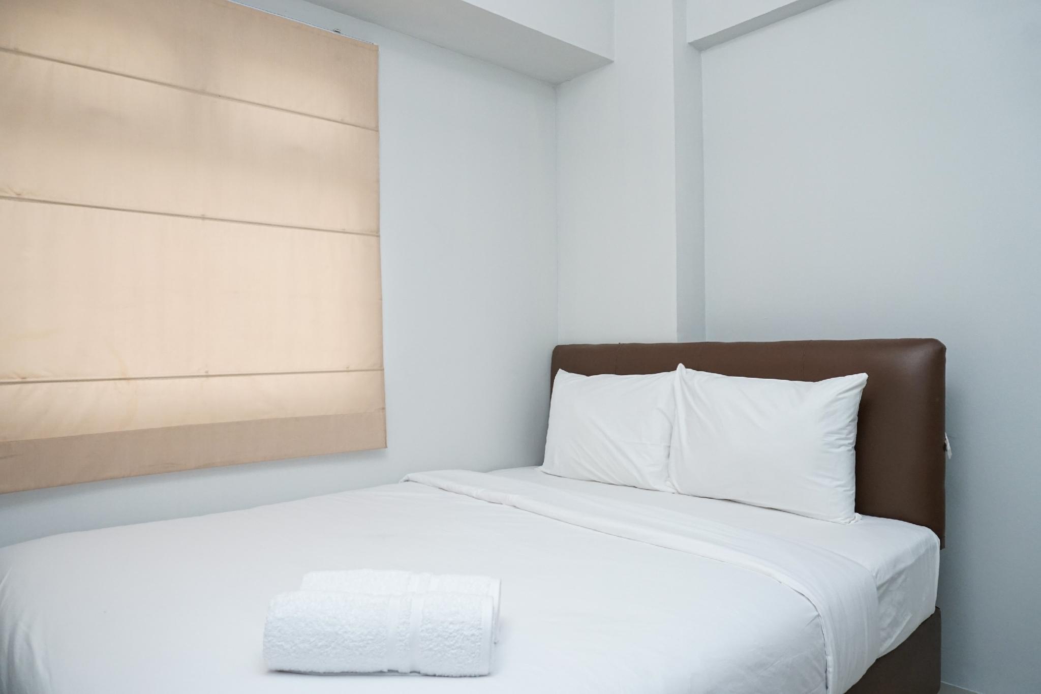 Tranquil Green Pramuka 2BR Apartment By Travelio