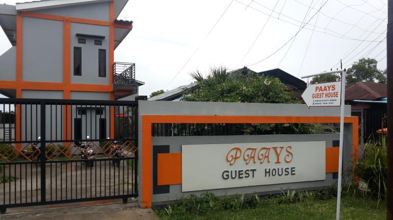 paays guest house in indonesia asia