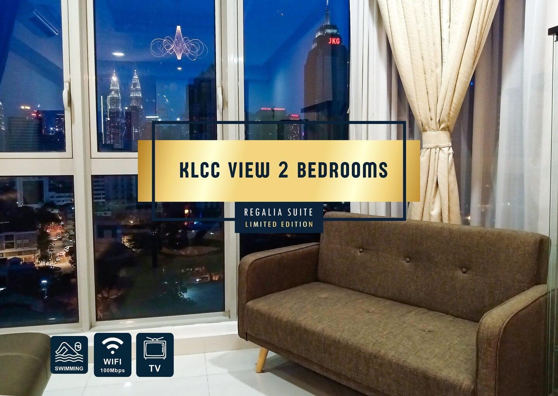 Insta Worthy Awesome Regalia Cosy 2BR KLCC View
