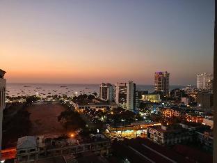 [パタヤ中心地]アパートメント(30m2)| 1ベッドルーム/1バスルーム 5. Central sea 3 minutes to the beach  (city view)