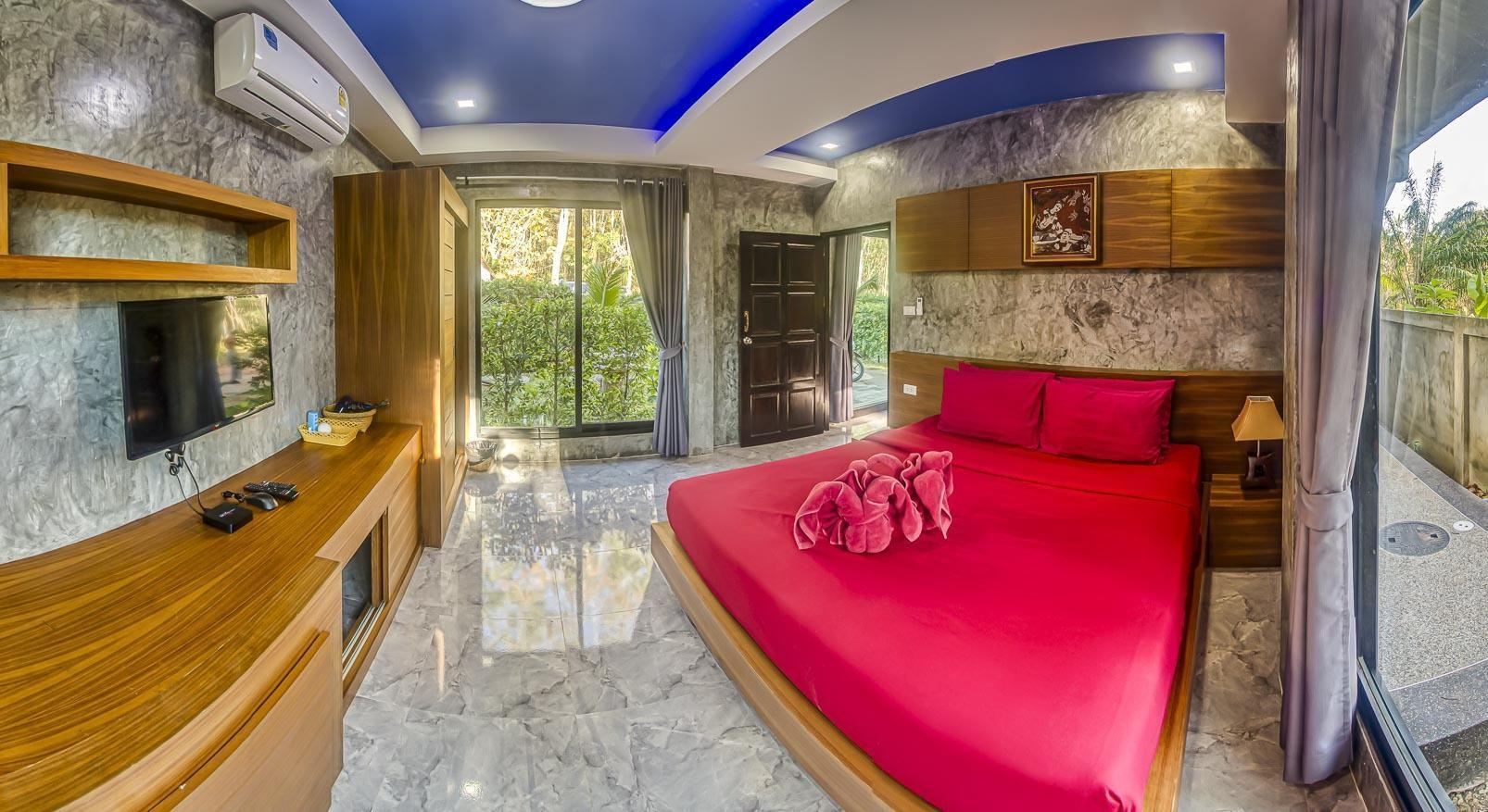 Lanta K Home , Deluxe Room With Kitchen 1 ห้องนอน 1 ห้องน้ำส่วนตัว ขนาด 30 ตร.ม. – หาดคลองนิน