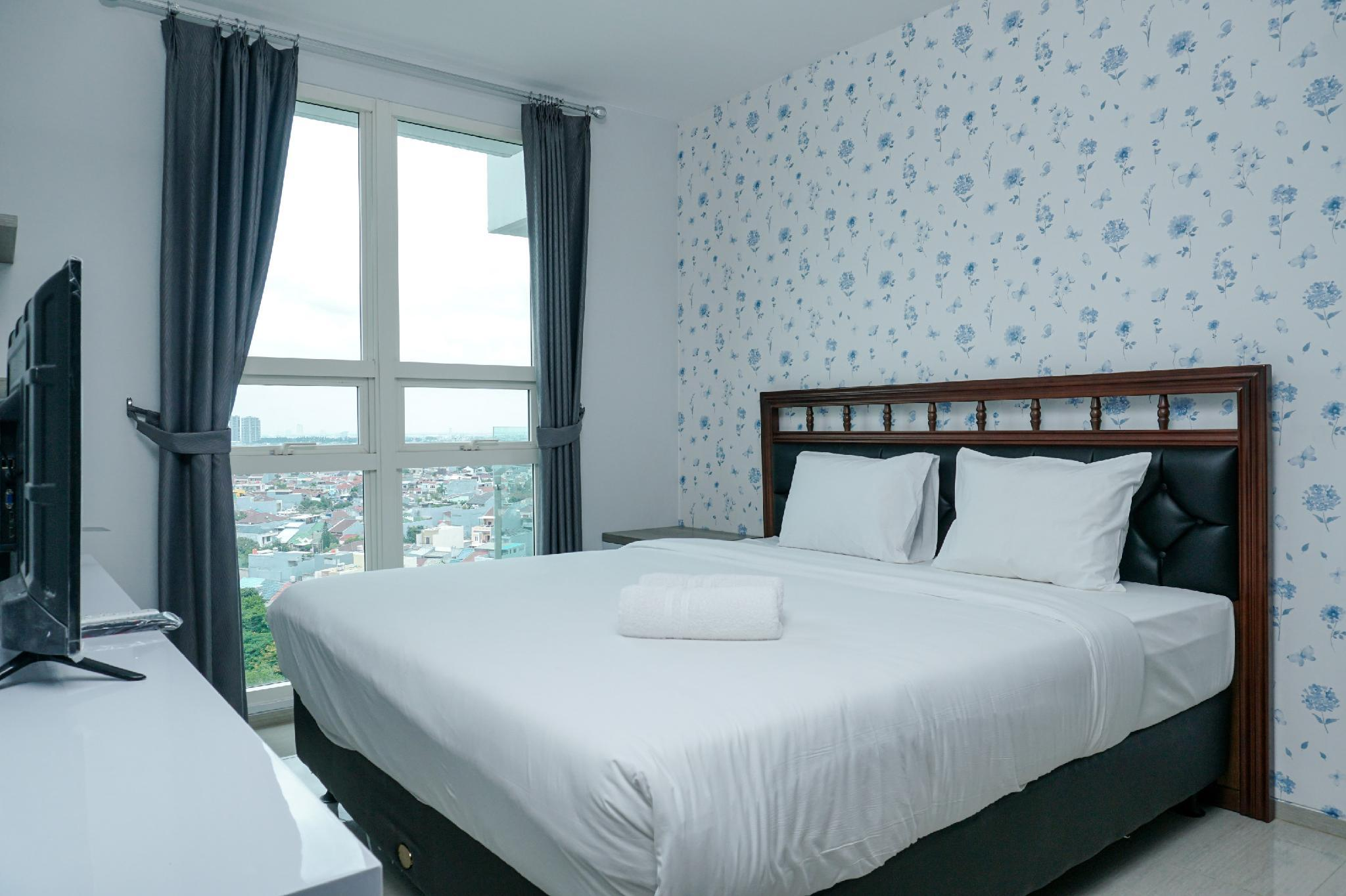 Relaxing 2BR At CitraLake Suites Apt By Travelio