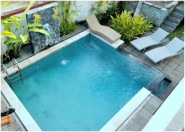 Ubud Rice field view Villa  with privale pool