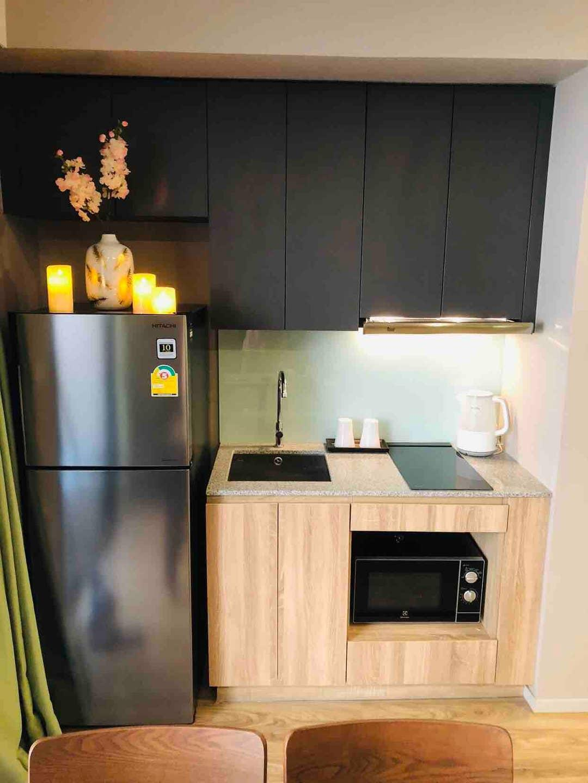 Warm, Convenient transportation, Sathorn/silom@BTS อพาร์ตเมนต์ 1 ห้องนอน 1 ห้องน้ำส่วนตัว ขนาด 30 ตร.ม. – สาทร