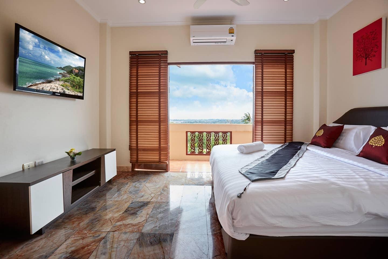 Villa Namuang 5 Bed/6 Bath, Sea View, Private Pool วิลลา 5 ห้องนอน 6 ห้องน้ำส่วนตัว ขนาด 350 ตร.ม. – หน้าเมือง