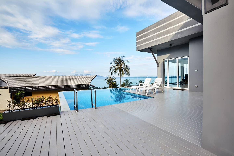 NB Sea View Pool Villa 2 bedroom วิลลา 2 ห้องนอน 2 ห้องน้ำส่วนตัว ขนาด 90 ตร.ม. – หาดบ่อผุด