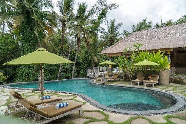 2BR Pool Villa with Jungle View + Breakfast @Ubud