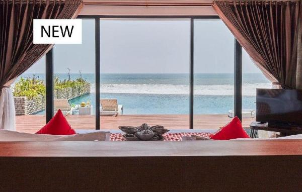 50 off- absolute beachfront retreat for a couple Bali