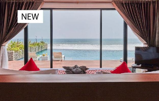 50 off- absolute beachfront retreat for a couple