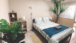 [シーロム]アパートメント(45m2)| 1ベッドルーム/1バスルーム 476 Silom nearby BTS cozy green comfortable room