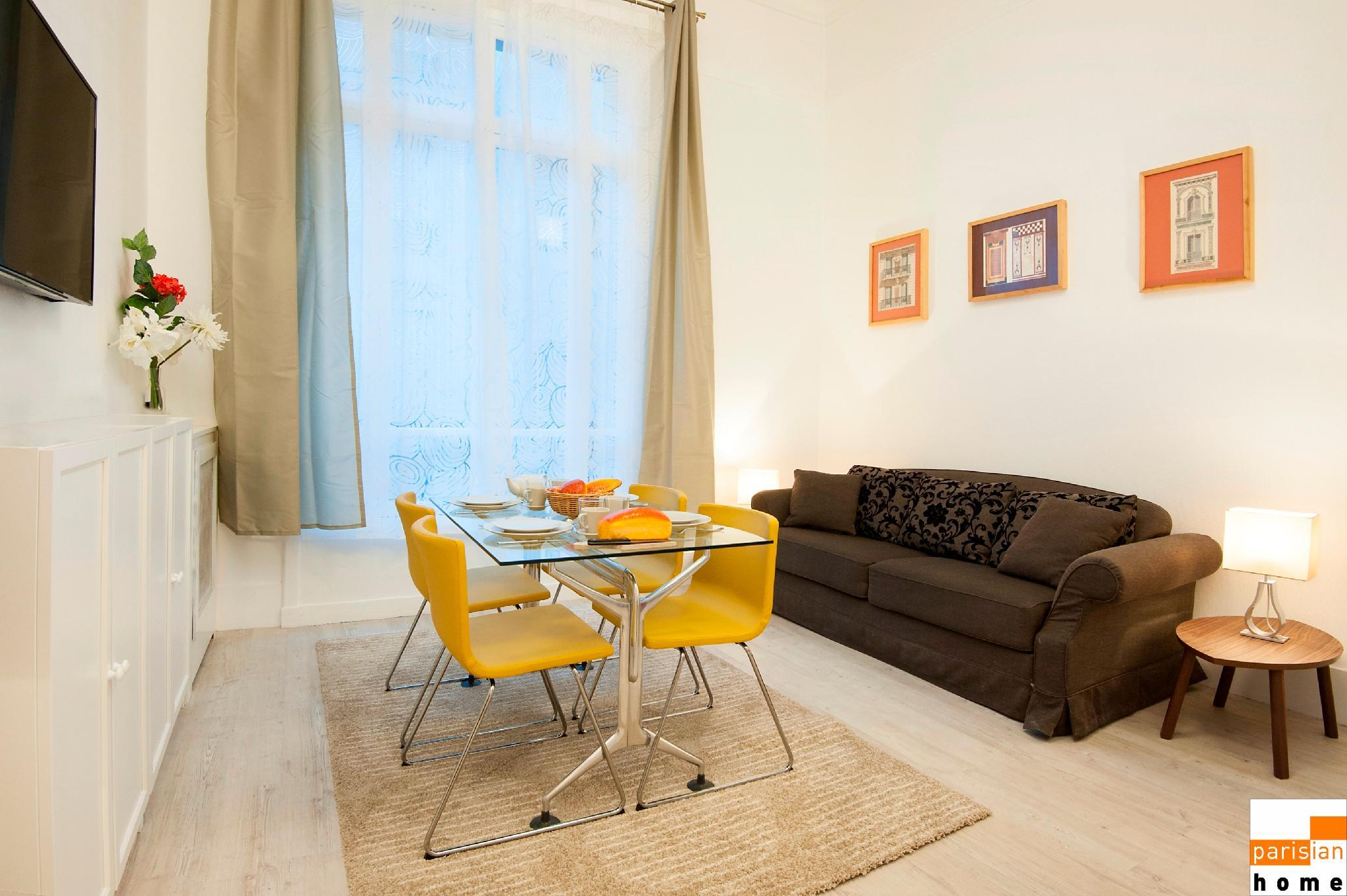 208005 - A large opulent apartment for 6 people, metro Etoile