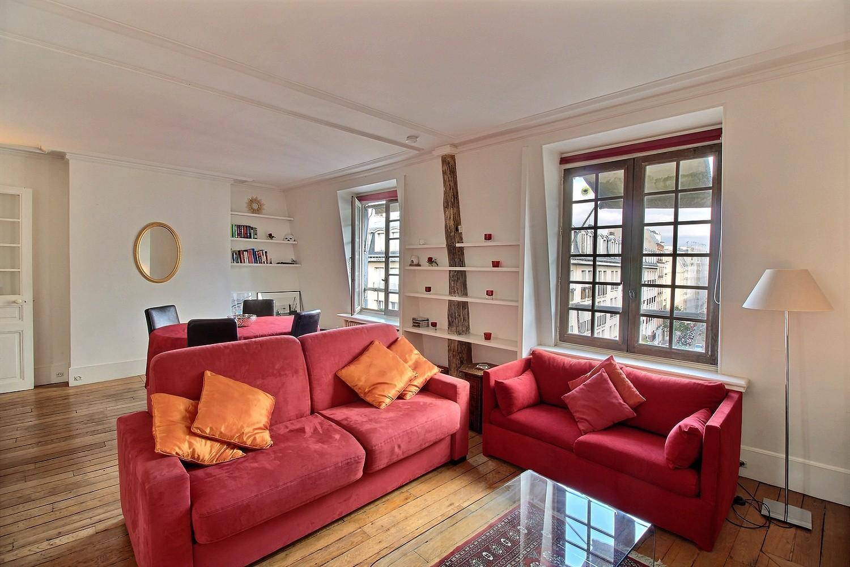 104318 - Marais one bedroom roof top apartment paris